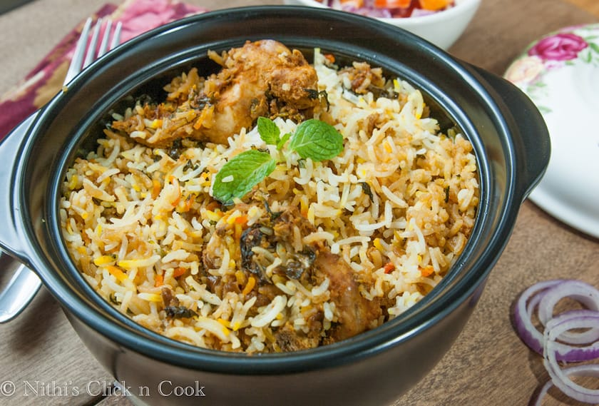 Chicken Dum Biryani | how to make Chicken Dum Biryani