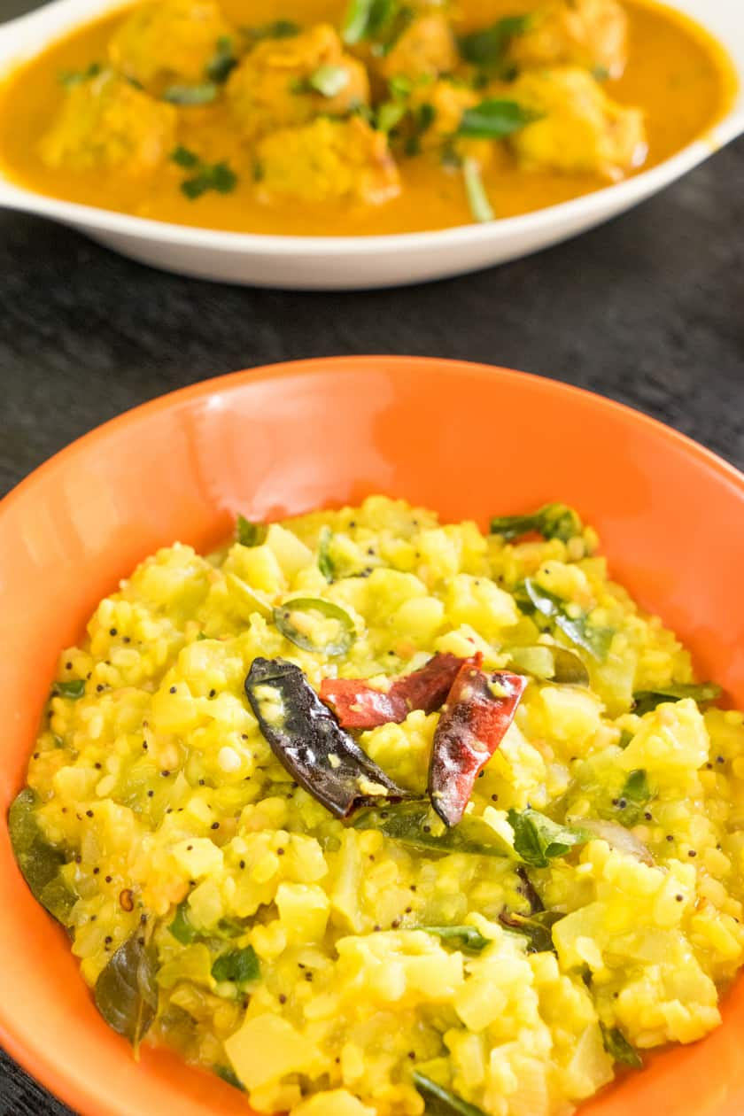 Chow chow kootu without coconut/Chayote kootu recipe is the simple and quick side dishes that you can make with in 15 mins.
