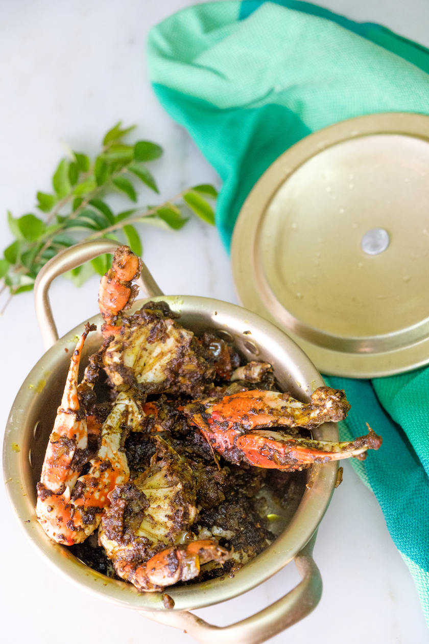 crab pepper fry recipe