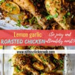Chicken drumsticks are marinated with homemade flavorful lemon garlic marinade, makes it ultimately moist, tender and succulents!