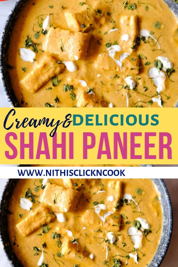 This Shahi Paneer recipe tastes straight out of the restaurant, it's wonderfully lusciously creamy, silky, mildly sweeter, bursting with flavours.This Going to be your New favourite at home because it's gorgeously perfect with minimal effort #shahipaneer #paneerrecipes
