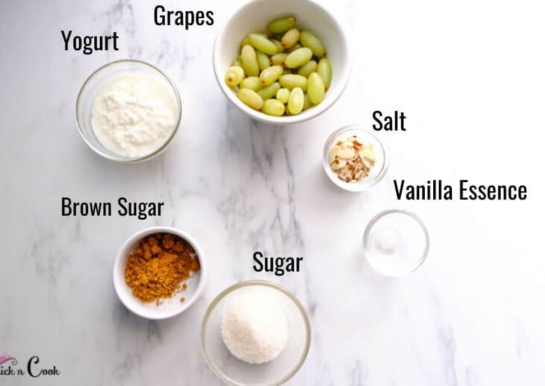 grape salad ingredients